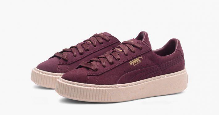 Puma Suede Platform Arkiv Cool Sneakers