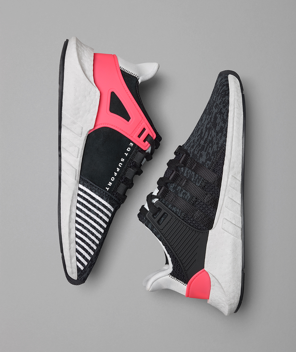 Adidas EQT Support ADV 93/17 Black Turbo Red