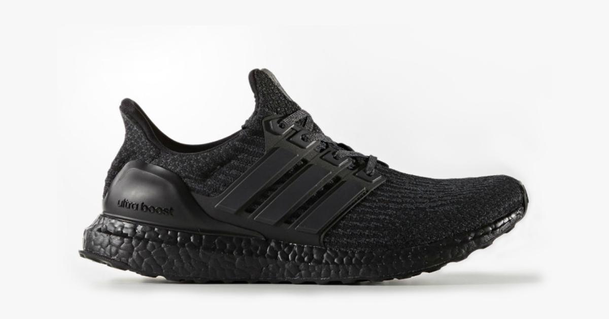 "adidas Ultra Boost 3.0 ""Triple Black"
