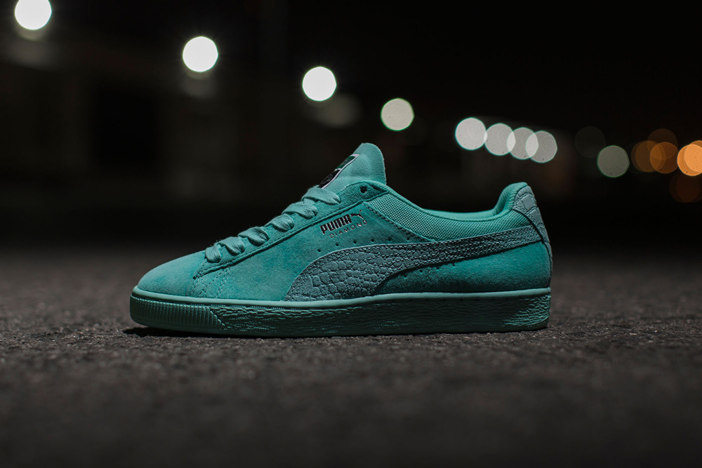 Diamond Supply x Puma Suede Classic Aruba Blue