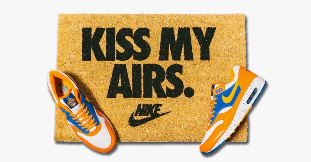 KISS MY AIRS Dørmåtte