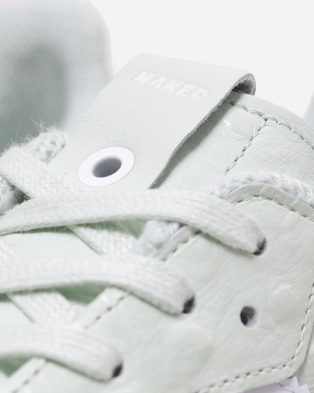 Adidas Superstar Slip On White Mono Hers trainers Offspring