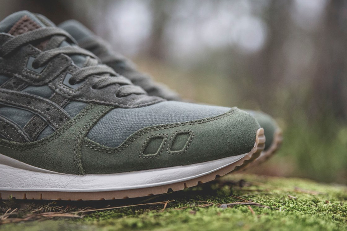 Sneakersnstuff x Asics Gel Lyte III Forest Pack