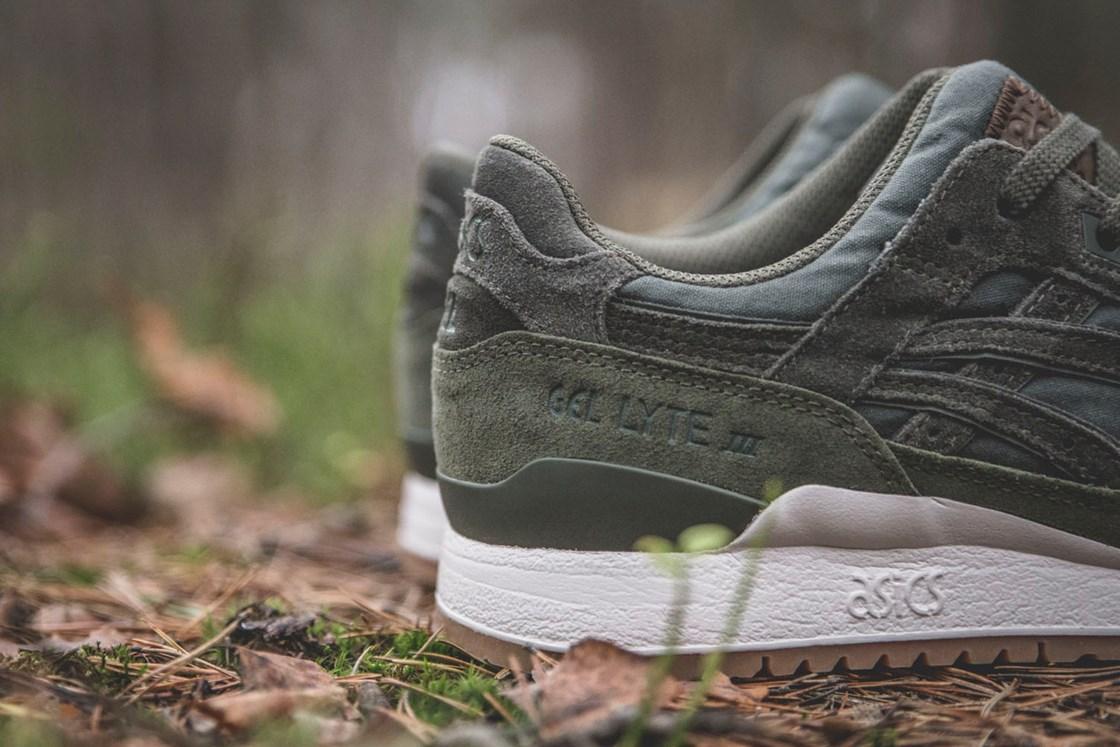 Sneakersnstuff x Asics Gel Lyte III Forest Pack