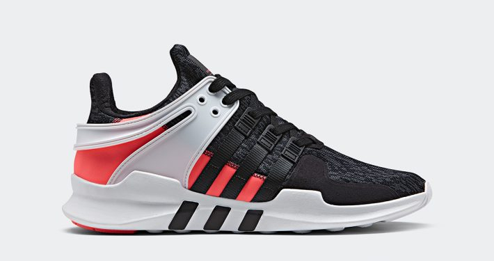Adidas EQT Support ADV Black Turbo Red