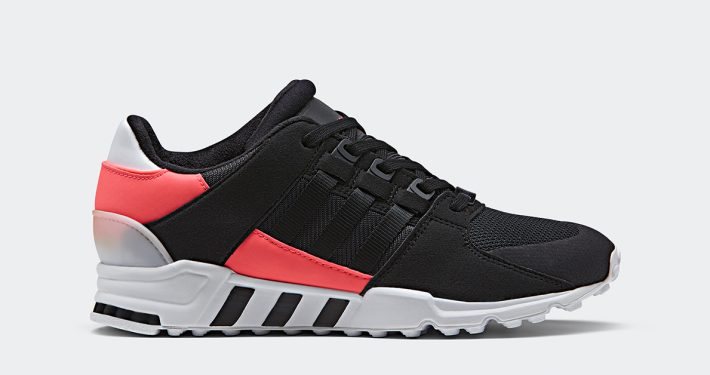 Adidas EQT Support RF Black Turbo Red