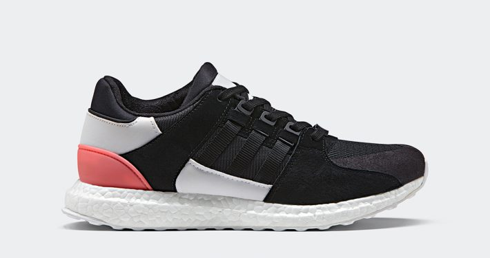 Adidas EQT Support Ultra Black Turbo Red