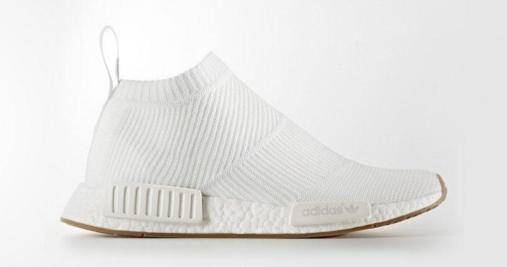 Adidas NMD CS1 Primeknit White Gum
