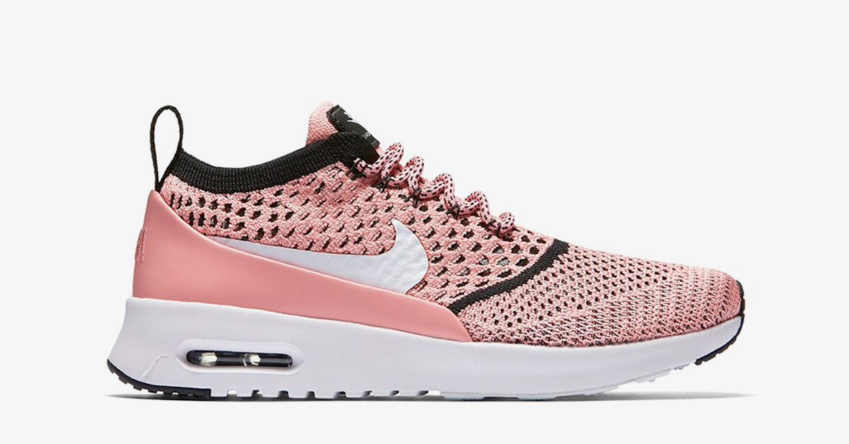 84c9a8fa255 Nike Air Max Thea Flyknit Bright Melon - Cool Sneakers