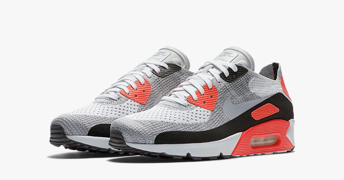 Nike Air Max 90 Ultra Flyknit Infrared Release Date