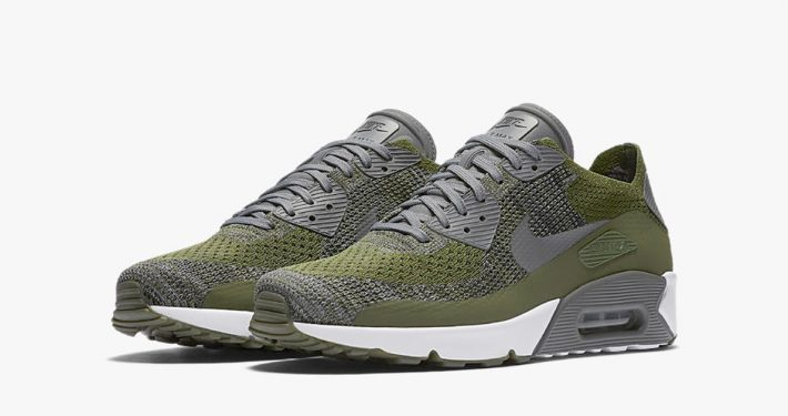 Nike Air Max 90 Ultra Flyknit Rough Green