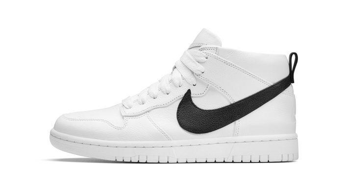 R.T. x NikeLab Dunk Lux Chukka White Black