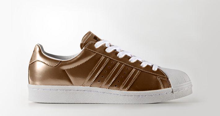 Womens Adidas Superstar Boost Copper