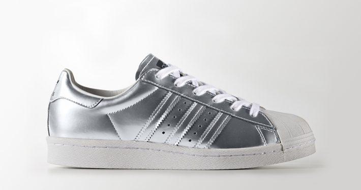 Womens Adidas Superstar Boost Silver
