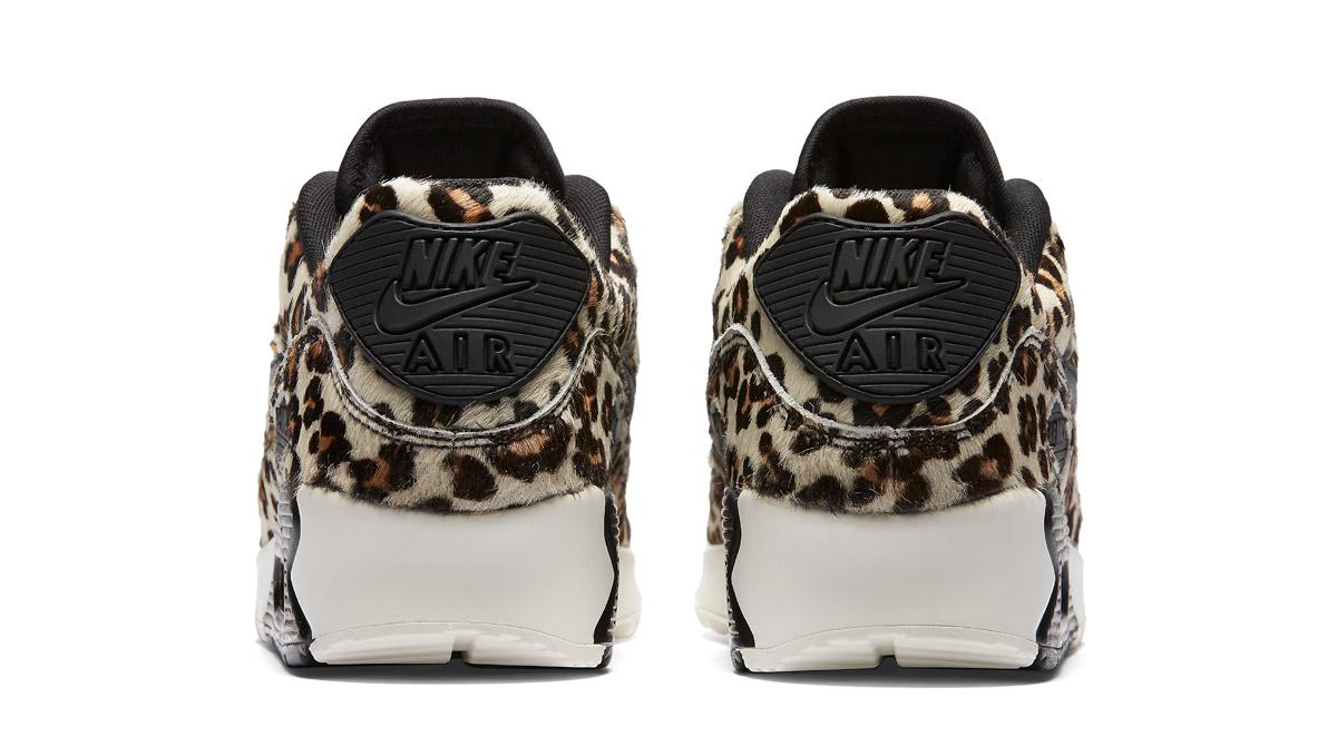 e25dacea8c63 Womens Nike Air Max 90 LX Grey Leopard - Cool Sneakers