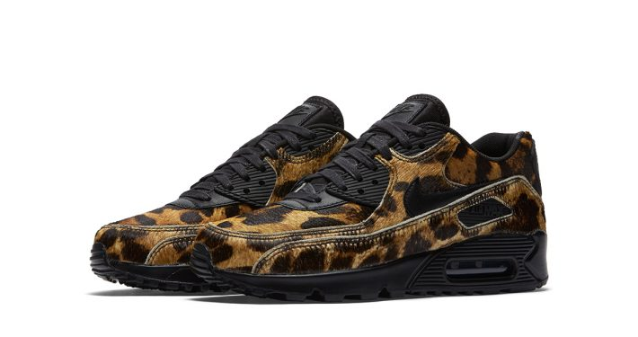 Womens Nike Air Max 90 LX Yellow Leopard