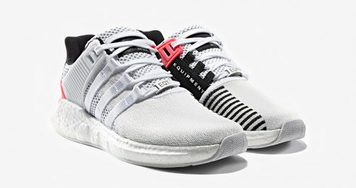 Adidas EQT Support ADV 93-17 White Turbo Red