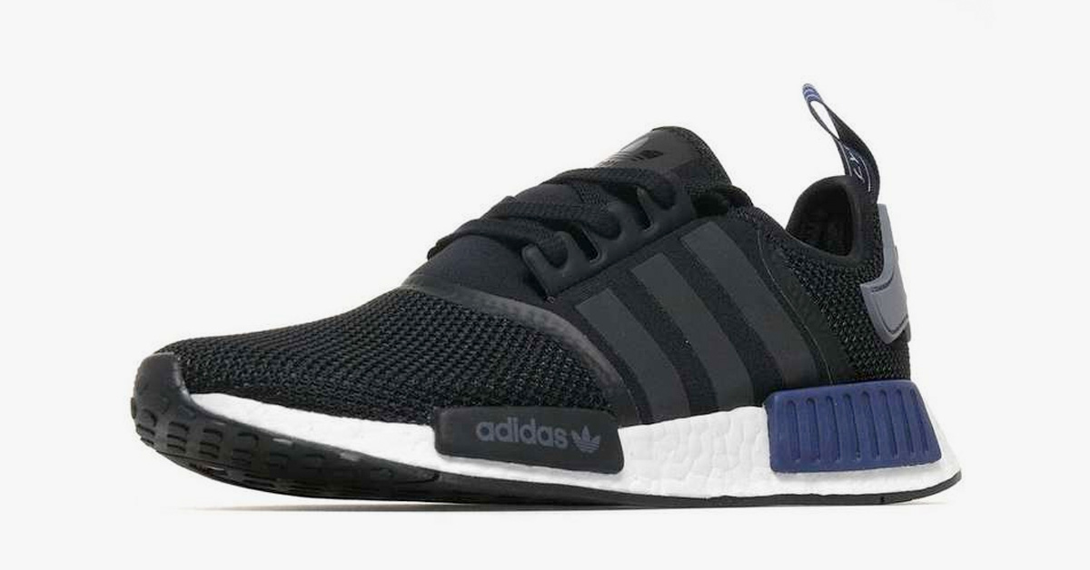Adidas NMD R1 Black Navy JD Sports Cool Sneakers