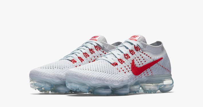 Nike Air VaporMax White Red