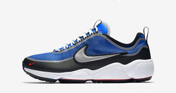 Nike Air Zoom Spiridon Ultra Royal Blue Silver
