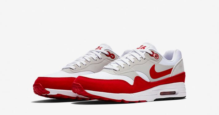 Womens Nike Air Max 1 Ultra 2.0 White Red