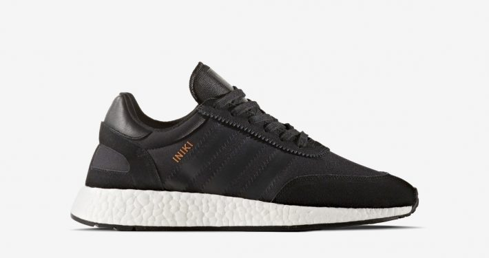 Adidas Iniki Core Black White