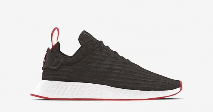 Adidas NMD R2 PK Core Black Red