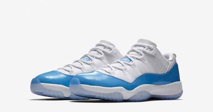Nike Air jordan 11 Low White University Blue