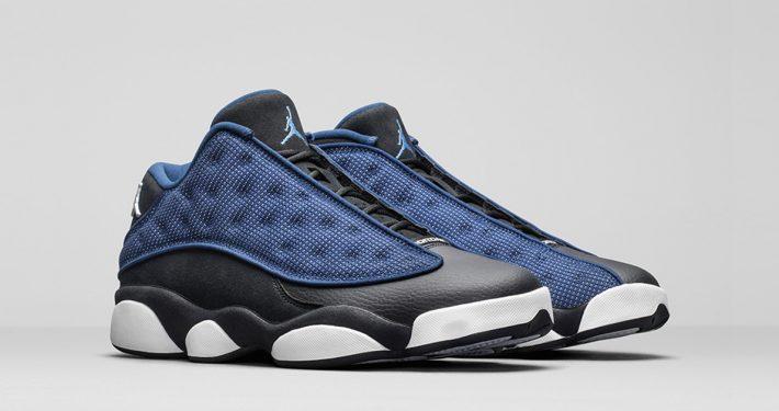 Nike Air Jordan 13 Low Black Brave Blue