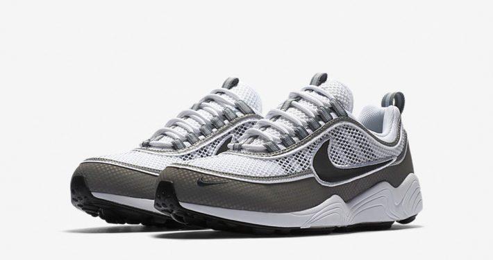 Nike Air Zoom Spiridon White Light Ash