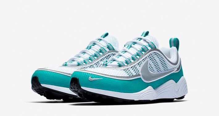 Nike Air Zoom Spiridon White Turbo Green