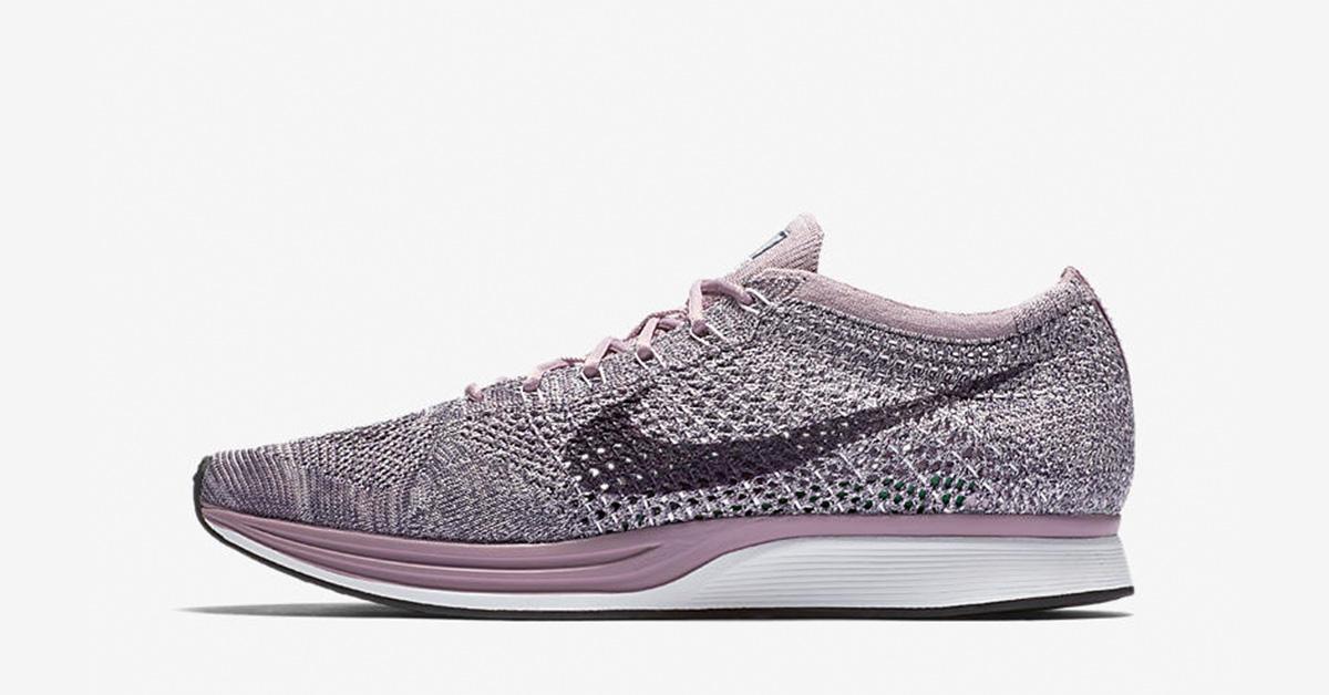 Nike Flyknit Racer Macaron Lavender Cool Sneakers
