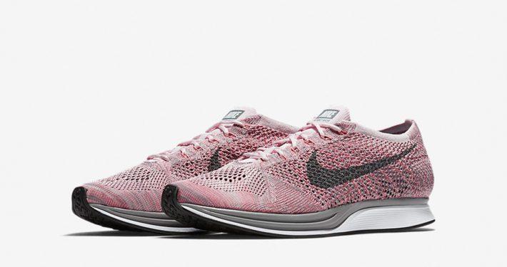 Nike Flyknit Racer Macaron Strawberry