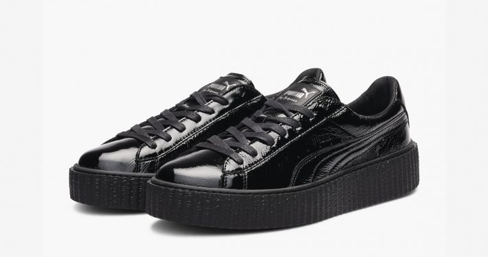 Rihanna x Puma Creeper Triple Black Leather