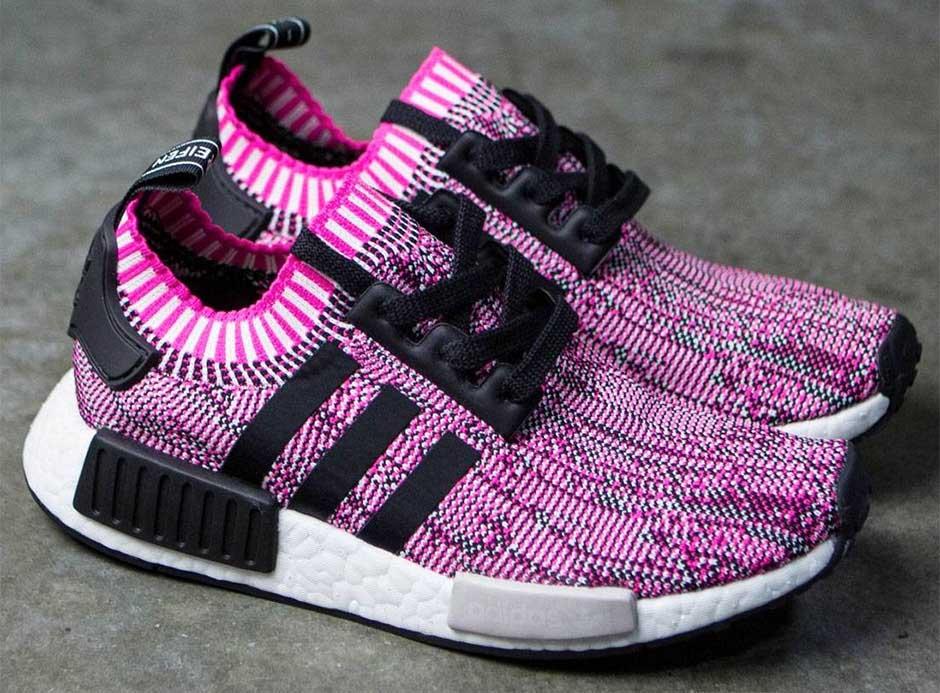 Womens Adidas NMD R1 Shock Pink