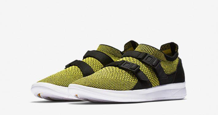 Womens Nike Air Sock Racer Ultra Flyknit Yellow Strike