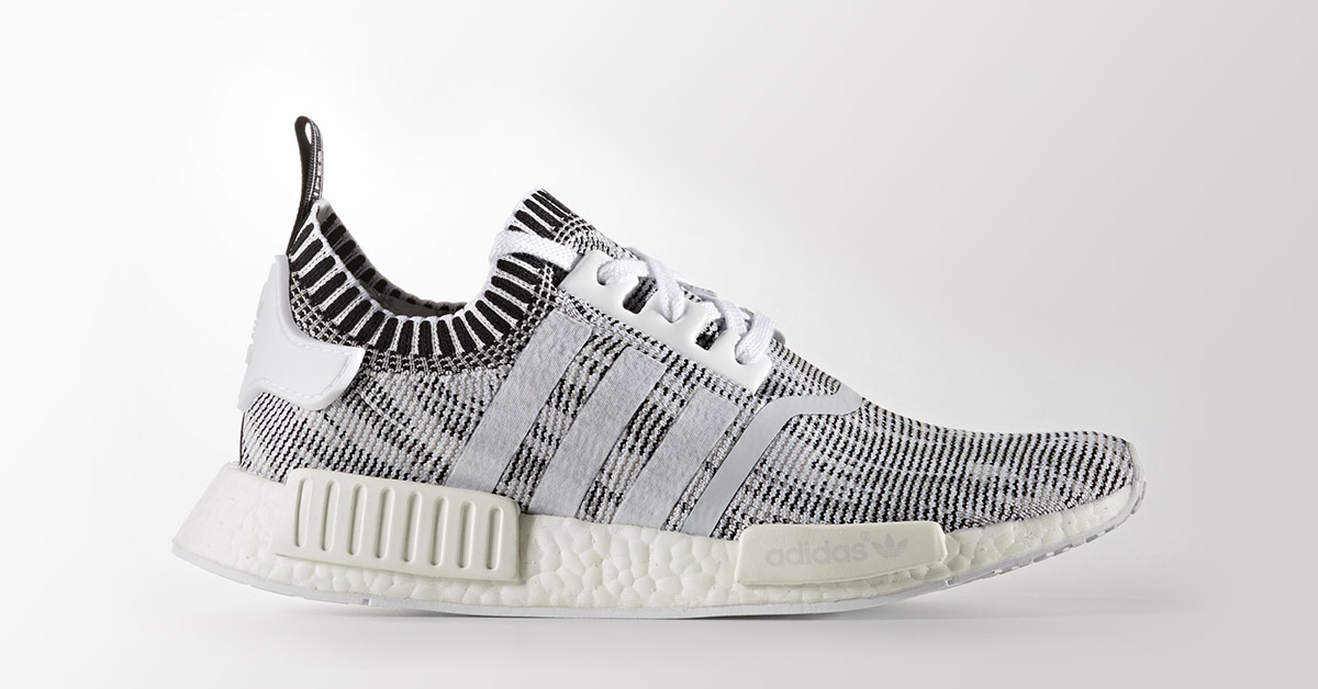 Adidas NMD R1 Hvid Sort Cool Sneakers