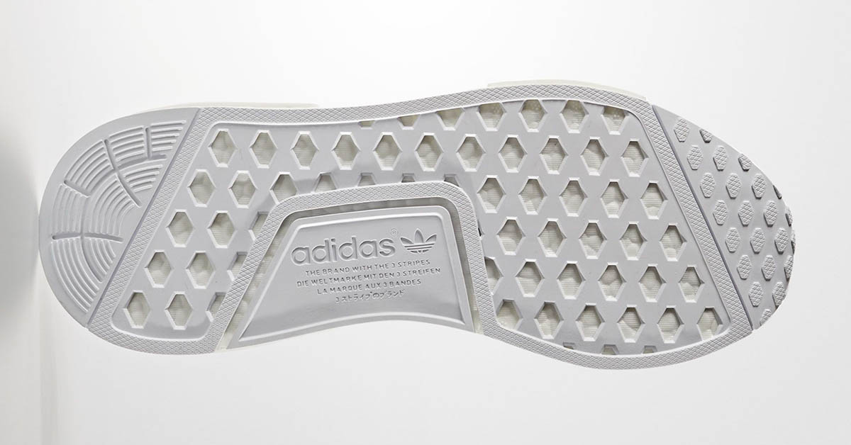 Adidas NMD R1 PK White Black
