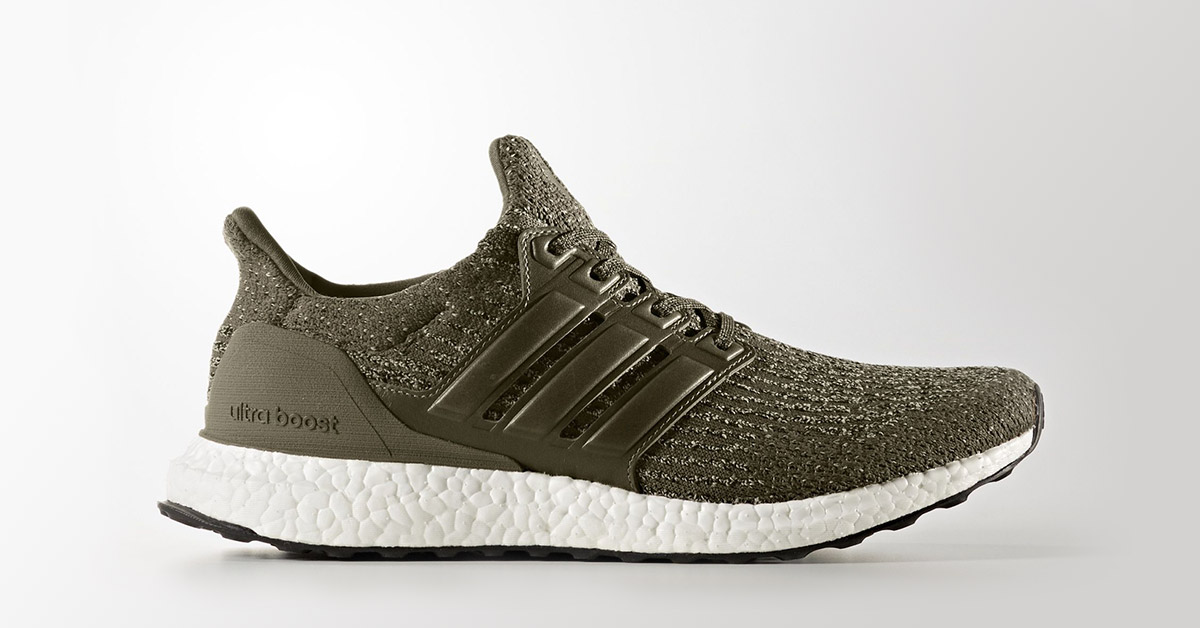 Adidas Ultra Boost 3.0 Olive
