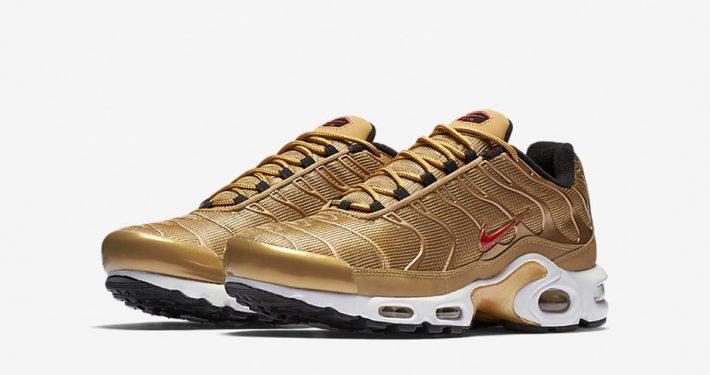 Nike Air Max Plus Tn Metallic Gold
