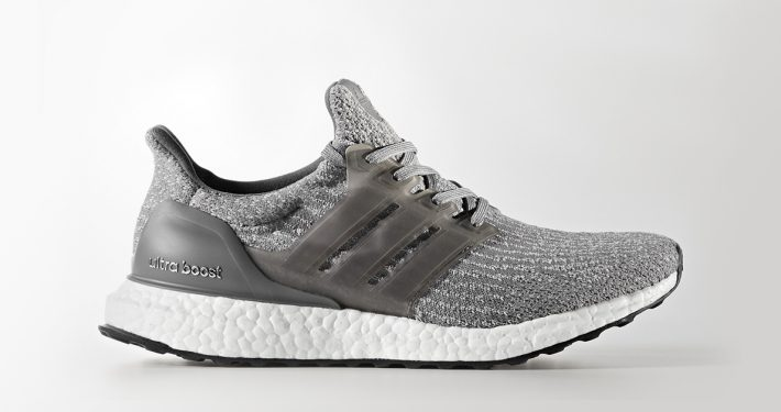 Womens Adidas Ultra Boost 3.0 Grey Four