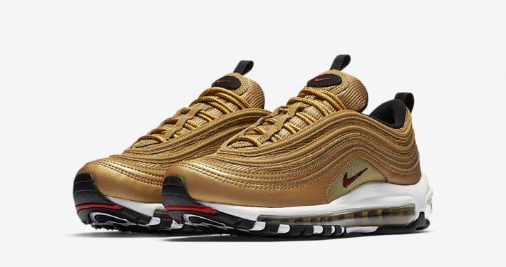 Womens Nike Air Max 97 Metallic Gold