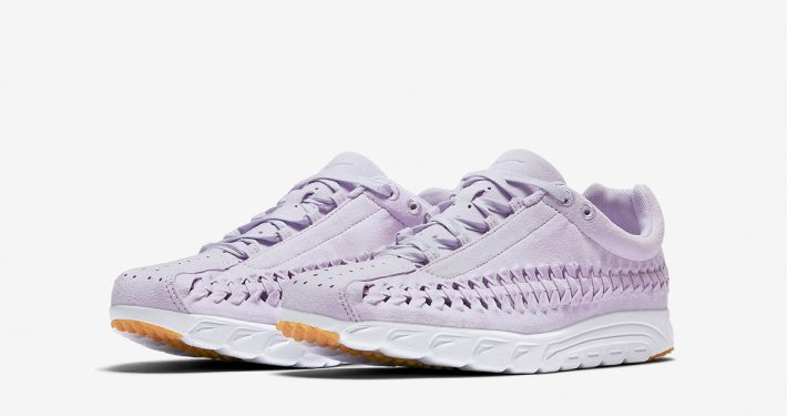 Womens Nike Mayfly Woven Barely Grape