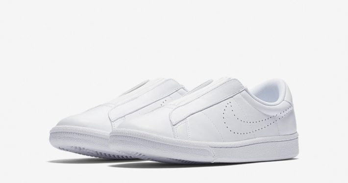 Womens Nike Tennis Classic Ease Triple White