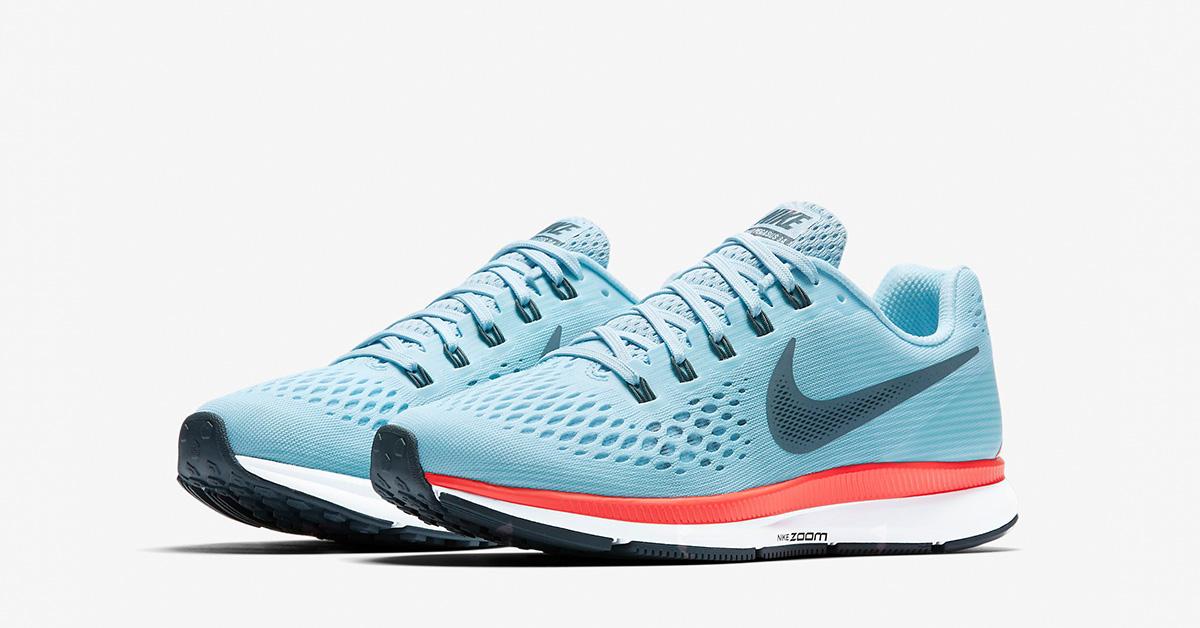 Nike Air Zoom Pegasus 34 Lette og hurtige hverdags løbesko