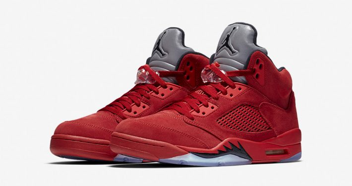 Nike Air Jordan 5 Retro Flight Suit University Red