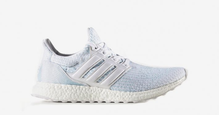 Parley x Adidas Ultra Boost White Icey Blue