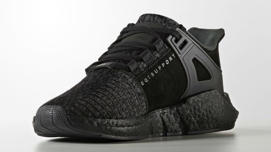 more photos 333f9 a49d5 ... store adidas eqt support 93 17 triple black 8b0b8 f033f