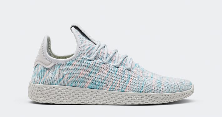 Pharrell Williams x Adidas Tennis Hu Grey Frozen