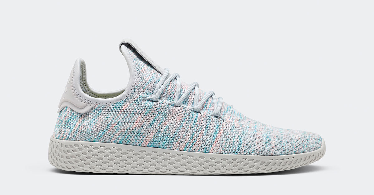 pharrell williams x adidas tennis hu grey frozen cool. Black Bedroom Furniture Sets. Home Design Ideas